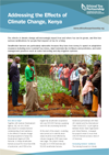 Addressing the effects of climate change, Kenya thumb