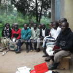 Meeting with Kayanja smallholder farmers
